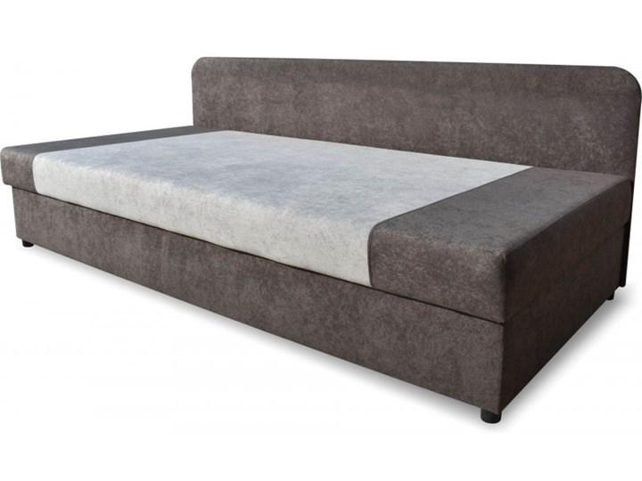 Łóżko Tapicerowane 90x200 Sida Grafitowy/Szary