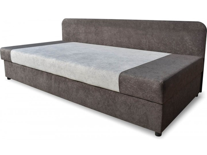 Łóżko Tapicerowane 90x200 Sida Plus Grafitowy/Szary