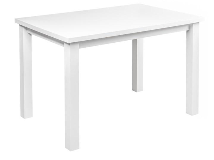Stół Drewniany do Kuchni Jadalni 120x80 Szerokość 80 cm Drewno Płyta MDF Długość 120 cm  Kategoria Stoły kuchenne