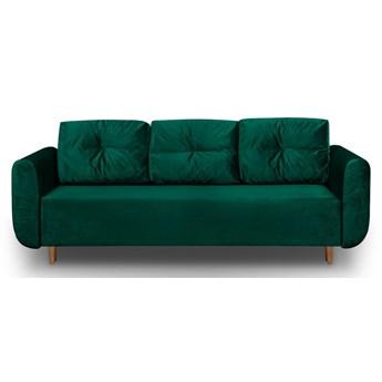 Sofa z Funkcją Spania Sewilla Królewska Zieleń