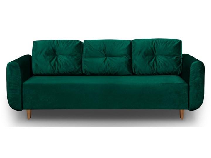 Sofa z Funkcją Spania Sewilla Królewska Zieleń Rozkładanie Rozkładana