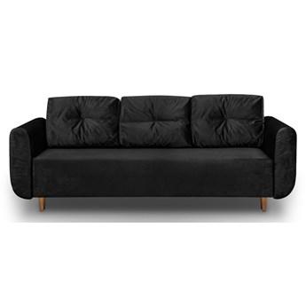 Sofa z Funkcją Spania Sewilla Czarny