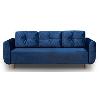 Sofa z Funkcją Spania Sewilla Granatowy