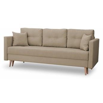 Sofa z Funkcją Spania Lahti Piaskowy