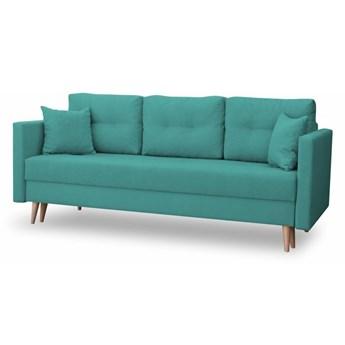 Sofa z Funkcją Spania Lahti Turkusowy