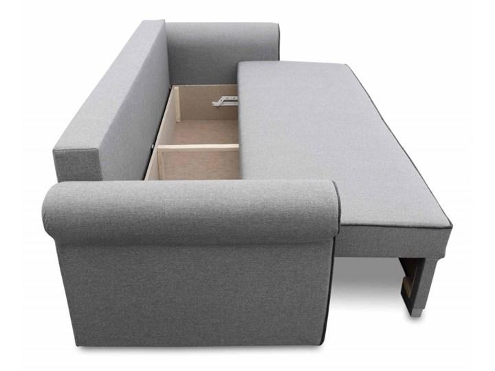 Sofa z Funkcją Spania Pele Musztardowy Typ Gładkie Rozkładanie Rozkładana