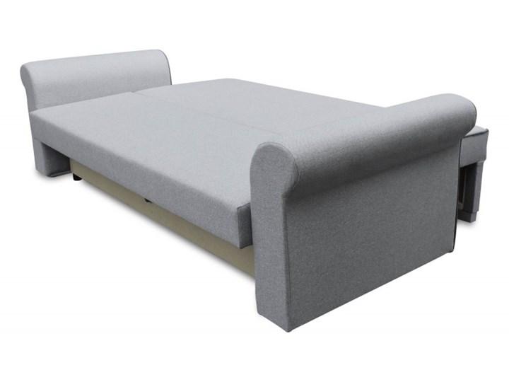 Sofa z Funkcją Spania Pele Brązowy/Kremowy Typ Gładkie