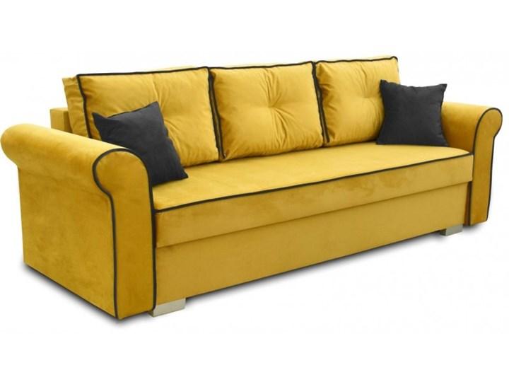 Sofa z Funkcją Spania Pele Musztardowy Kategoria Sofy i kanapy