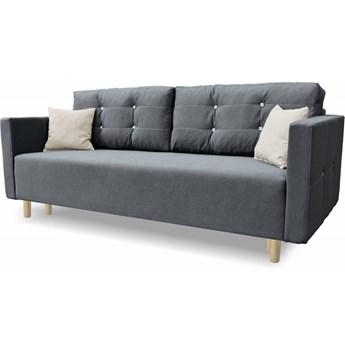 Sofa z Funkcją Spania Queen Grafit