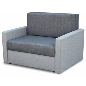 Fotel Sofa Jednoosobowa do Spania Tedi 1 Szary