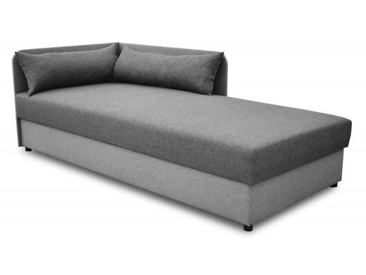 Łóżko Tapicerowane 90x200 Dallas Grafitowy/Szary
