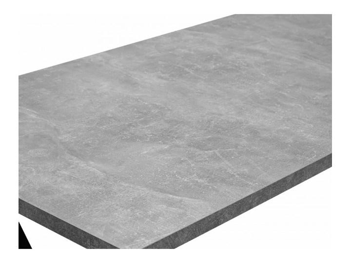 Stół z Metalowymi Nogami LOFT 150x80 Pomieszczenie Stoły do salonu Szerokość 80 cm Drewno Stal Tworzywo sztuczne Długość 150 cm  Wysokość 76 cm Rozkładanie