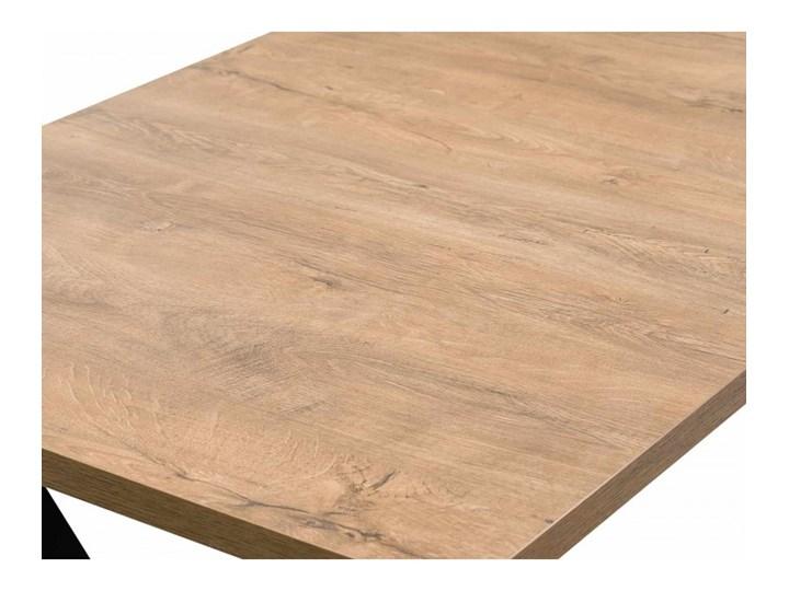 Stół z Metalowymi Nogami LOFT 150x80 Długość 150 cm  Wysokość 76 cm Stal Tworzywo sztuczne Drewno Kategoria Stoły kuchenne Szerokość 80 cm Styl Industrialny