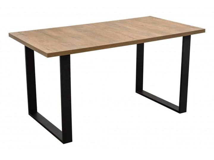 Stół z Metalowymi Nogami LOFT 150x80 Stal Szerokość 80 cm Długość 150 cm  Wysokość 76 cm Drewno Tworzywo sztuczne Styl Industrialny