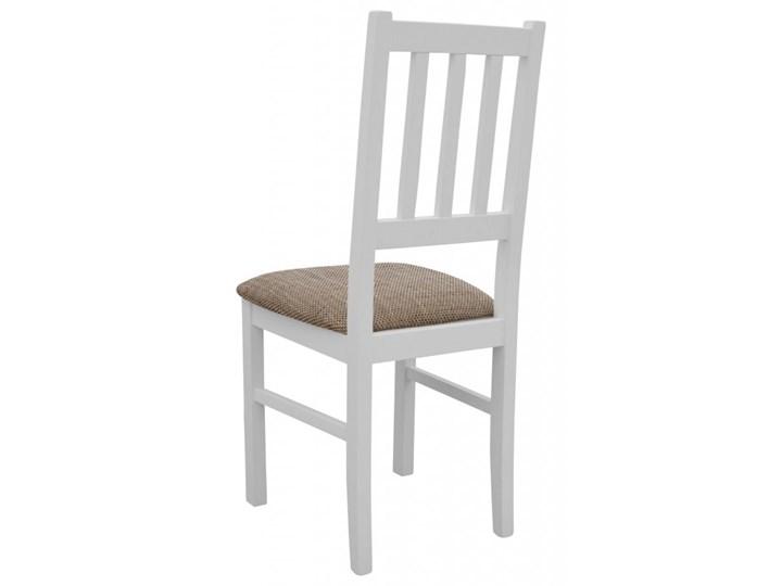 Stół Rozkładany + 6 Krzeseł do Kuchni 180/140x80 Brąz Kategoria Stoły z krzesłami