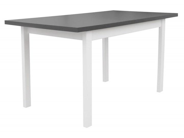 Stół Rozkładany + 6 Krzeseł do Kuchni 150/120x80 Grafit Kategoria Stoły z krzesłami Kolor Biały
