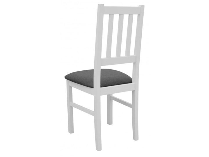 Stół Rozkładany + 4 Krzesła do Kuchni 150/120x80 Grafit Kategoria Stoły z krzesłami Kolor Biały