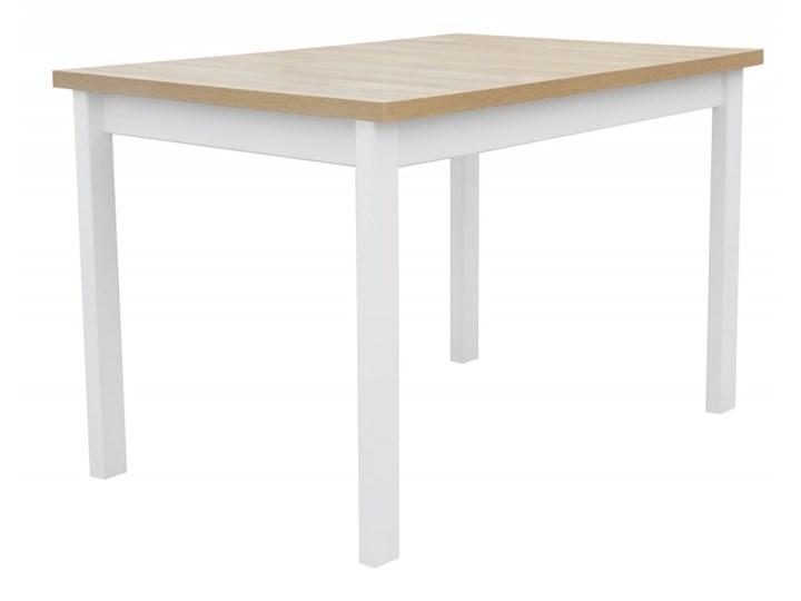 Stół Rozkładany + 4 Krzesła do Kuchni 150/120x80 Brąz Kategoria Stoły z krzesłami