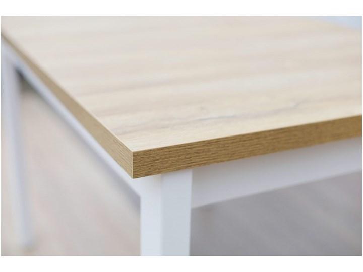 Stół Rozkładany + 4 Krzesła do Kuchni 150/120x80 Brąz Kategoria Stoły z krzesłami Kolor Beżowy