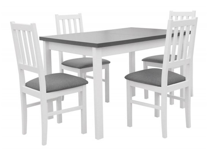 Stół Rozkładany + 4 Krzesła do Kuchni 150/120x80 Grafit Kategoria Stoły z krzesłami