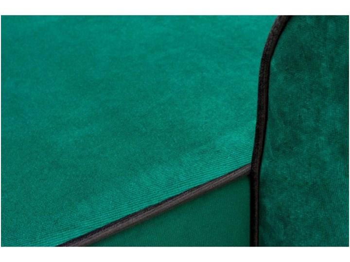 Narożnik z Funkcją Spania Trevor Królewska Zieleń W kształcie L Kolor Zielony Strona Prawostronne