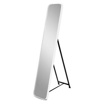 Lustro stojące w białej ramie 151 x 31 x 4 cm 16F-575 outlet