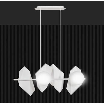 DRIFTON 4 WHITE 637/4 nowoczesna lampa wisząca DESIGN biała kule klosze