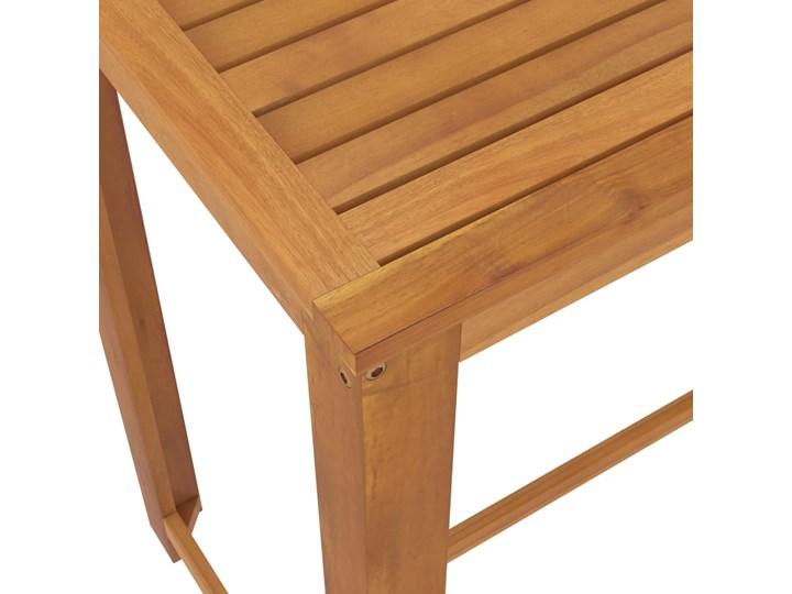 vidaXL 5-cz. zestaw mebli barowych do ogrodu, z poduszkami, szary Tworzywo sztuczne Stal Rattan Zawartość zestawu Stół
