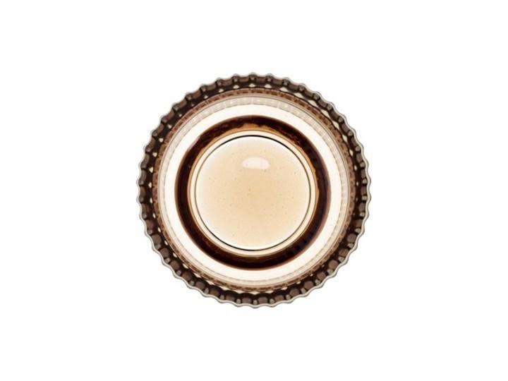 Lampion na tealight świecznik DUKA OPTISK 9x7 cm żółty szkło Kategoria Świeczniki i świece