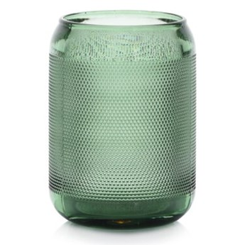 Lampion na tealight świecznik DUKA SPIKAR 9x12.5 cm zielony szkło