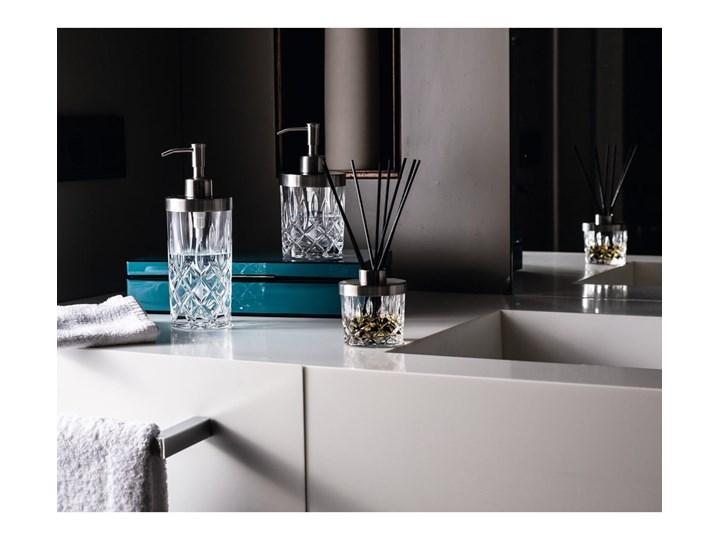 Dozownik do mydła ze szkła kryształowego Nachtmann Noblesse, 375 ml Szkło Stal Kolor Przezroczysty Dozowniki Metal Kategoria Mydelniczki i dozowniki