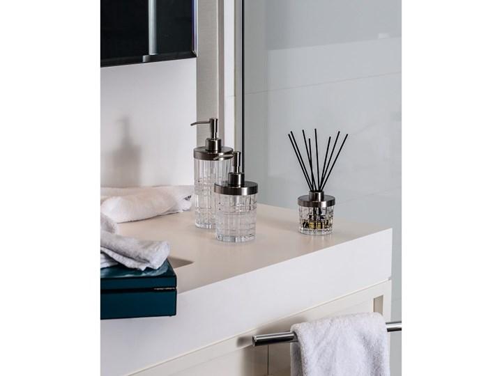 Dozownik do mydła ze szkła kryształowego Nachtmann Square, 445 ml Dozowniki Stal Metal Szkło Kolor Przezroczysty