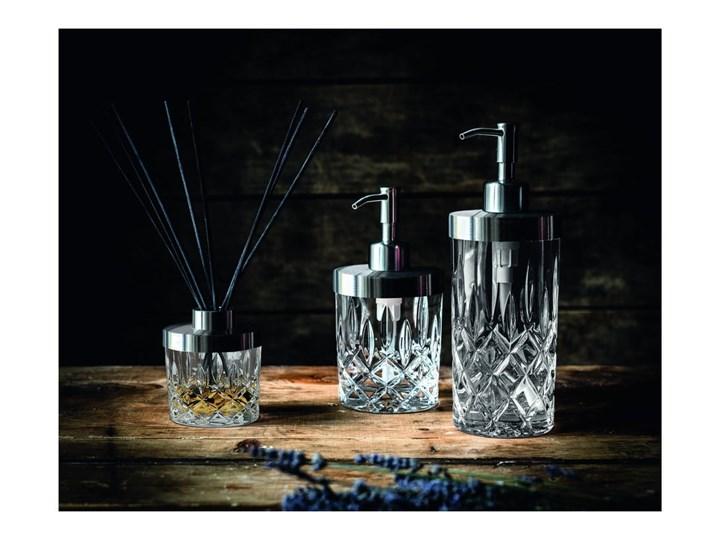 Dozownik do mydła ze szkła kryształowego Nachtmann Noblesse, 375 ml Szkło Metal Stal Dozowniki Kategoria Mydelniczki i dozowniki