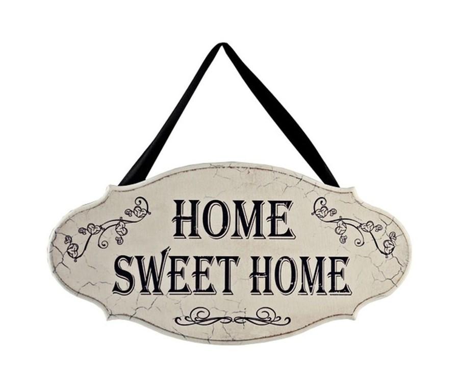 Romantyczne Wn Trze Tabliczka Home Sweet Home 30x14 Cm Darmowa Dostawa Do Ponad 190 Salon W