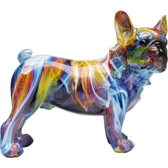 Figurka dekoracyjna Frenchie 24x22 cm kolorowa