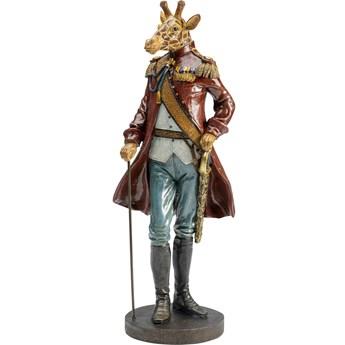 Figurka dekoracyjna Sir Giraffe Standing 17x45 cm kolorowa