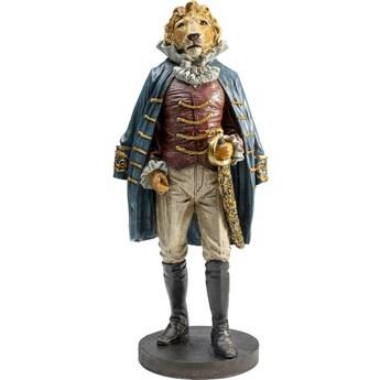 Figurka dekoracyjna Sir Lion Standing 18x41 cm kolorowa