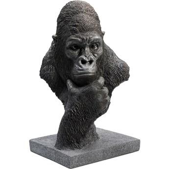 Figurka dekoracyjna Thinking Gorilla Head 29x49 cm