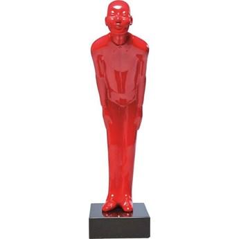 Figurka dekoracyjna Welcome Guests 13x46 cm czerwona