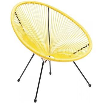 Fotel Acapulco 73x85 cm żółty