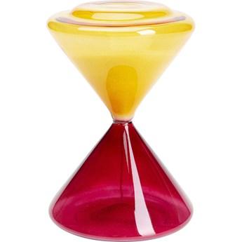Klepsydra Timer Ø12x18 cm 3 min. czerwono-pomarańczowa