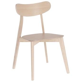 Krzesło Safina 49x80 cm jasnobrązowe
