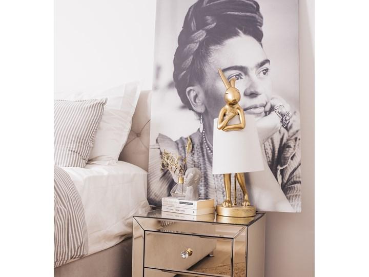 Lampa stołowa Animal Rabbit 23x68 cm złota Kolor Złoty
