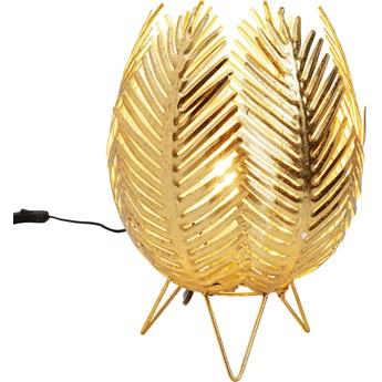 Lampa stołowa Jasmin Ø26x35 cm złota