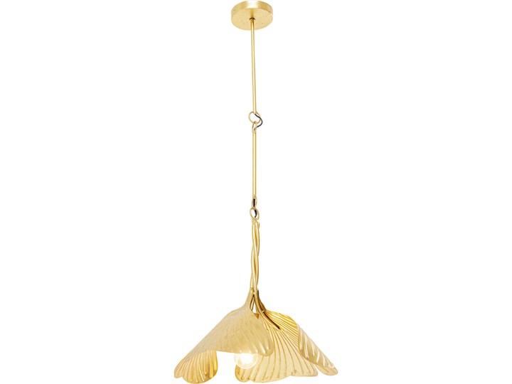 Lampa wisząca Yuva 40x35 cm złota Metal Kolor Złoty Stal Kategoria Lampy wiszące