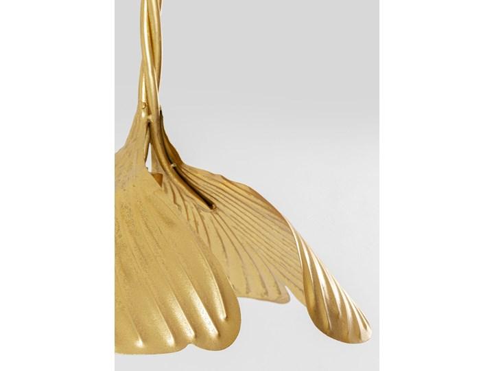 Lampa wisząca Yuva 40x35 cm złota Stal Metal Kolor Złoty Kategoria Lampy wiszące