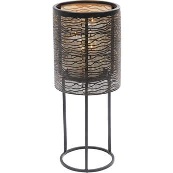 Latarenka Cylinder Ø31x77 cm czarna