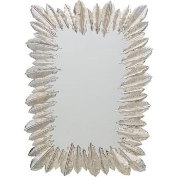 Lustro Feather Dress 49x69 cm srebrne
