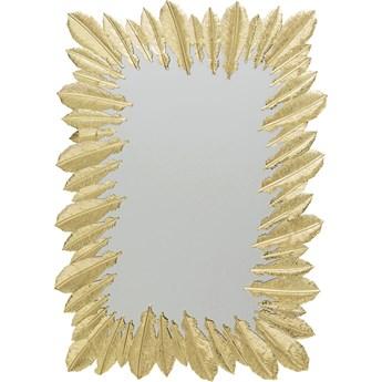 Lustro Feather Dress 49x69 cm złote