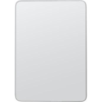 Lustro Jetset Square 64x94 cm srebrne